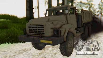 MGSV Phantom Pain Zi-GRA 6T Truck para GTA San Andreas