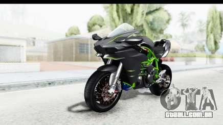 Kawasaki Ninja H2R Black para GTA San Andreas