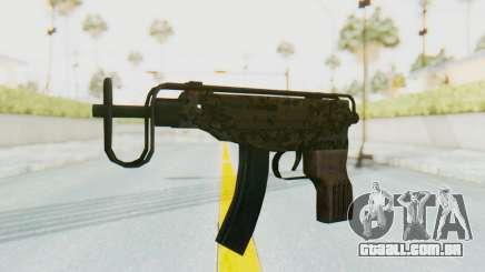 VZ-61 Skorpion Fold Stock Russian Gorka Camo para GTA San Andreas