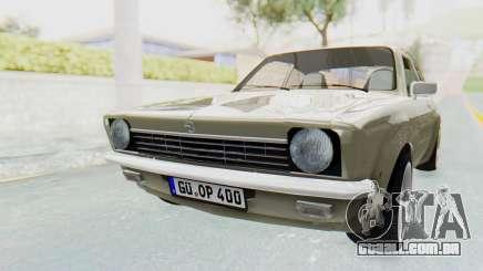 Opel Kadett C Coupe para GTA San Andreas