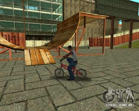 New HD Glen Park para GTA San Andreas oitavo tela