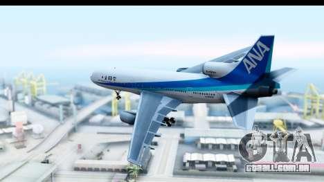 Lockheed L-1011-100 TriStar All Nippon Airways para GTA San Andreas esquerda vista