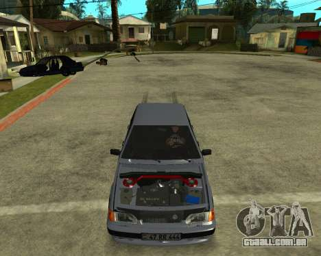 VAZ 21015 ARMENIAN para GTA San Andreas interior