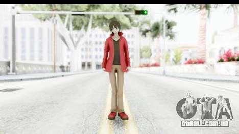 Shintaro Kirasagi (Kagerou Project) para GTA San Andreas segunda tela