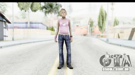 Silent Hill 3 - Heather Sporty Light Pink HK para GTA San Andreas segunda tela