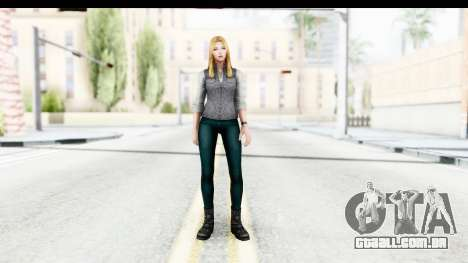 Marvel Future Fight - Sharon Carter (Civil War) para GTA San Andreas segunda tela