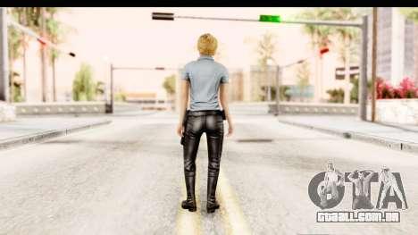 Silent Hill Shattered Memories - Cybil para GTA San Andreas terceira tela