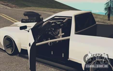 Elegy Ibragim para GTA San Andreas esquerda vista