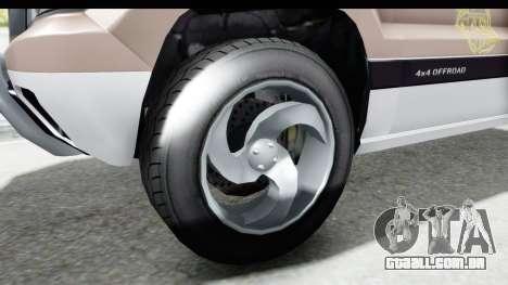 GTA 5 Canis Seminole Taxi Saints Row 4 para GTA San Andreas vista traseira
