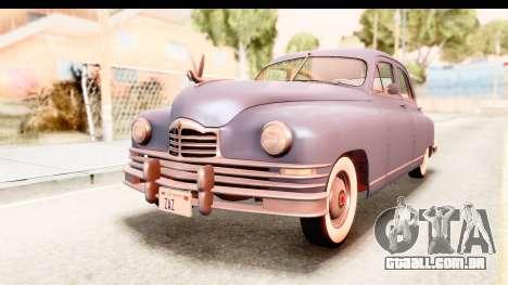 Packard Standart Eight 1948 Touring Sedan para GTA San Andreas vista direita