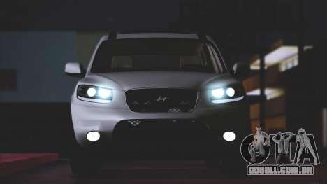 Hyundai Santa Fe Stock para GTA San Andreas esquerda vista