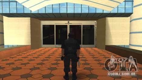 Modificado original pele SWAT para GTA San Andreas segunda tela