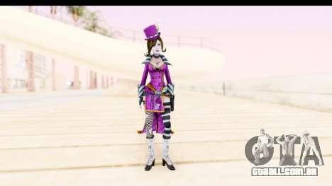 Borderland - Moxi Purple para GTA San Andreas segunda tela