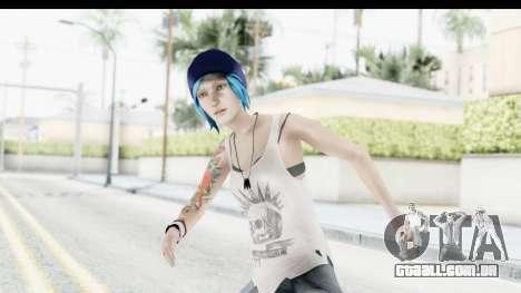 Life is Strange Episode 3 - Chloe Shirt para GTA San Andreas