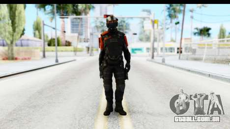 Homefront The Revolution - KPA v4 Black para GTA San Andreas segunda tela