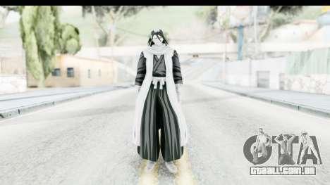 Bleach - Byakuya para GTA San Andreas segunda tela