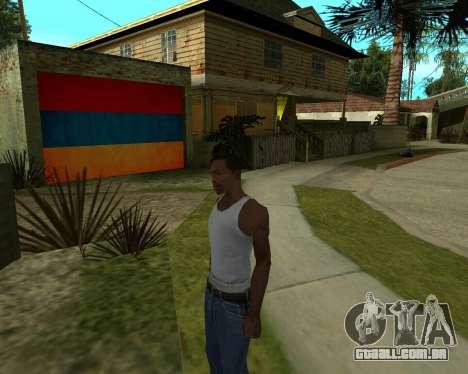 Garagem CJ arménio para GTA San Andreas