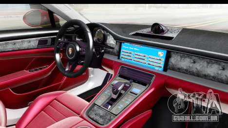 Porsche Panamera 4S 2017 v2 para GTA San Andreas vista interior