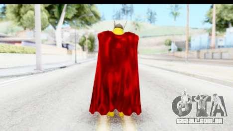 Marvel Heroes - Thor para GTA San Andreas terceira tela
