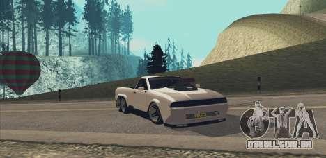Elegy Ibragim para GTA San Andreas vista direita