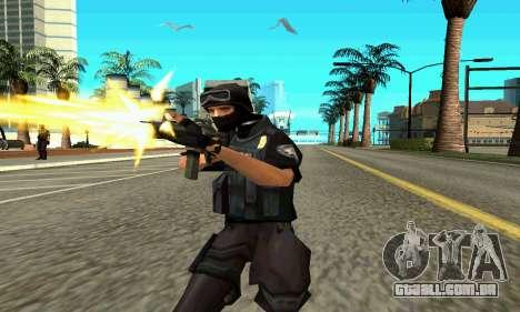 NextGen mudou a pele original SWAT para GTA San Andreas