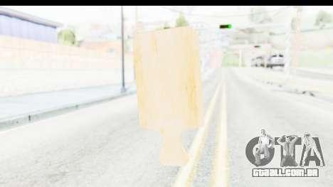 Cutting Board para GTA San Andreas terceira tela