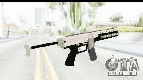 GTA 5 Coil Combat PDW para GTA San Andreas segunda tela