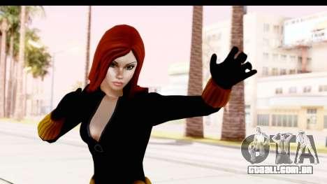 Marvel Heroes - Black Widow para GTA San Andreas