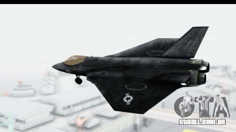 CoD Black Ops 2 - FA-38 para GTA San Andreas esquerda vista