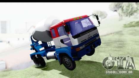 Nissan Diesel UD Big Thumb Cement Babena para GTA San Andreas
