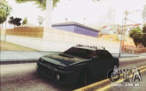 New Stance Sultan para GTA San Andreas esquerda vista