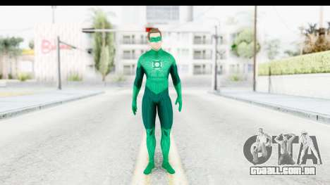 Green Lantern The Movie - Hal Jordan para GTA San Andreas segunda tela