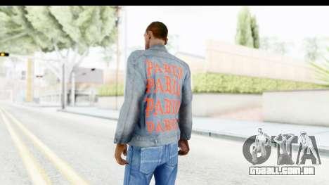 PABLO Denim Jacket para GTA San Andreas segunda tela