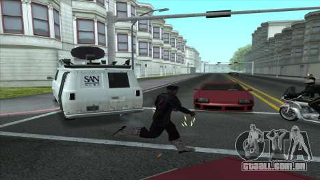 Newsvan Follow You para GTA San Andreas segunda tela
