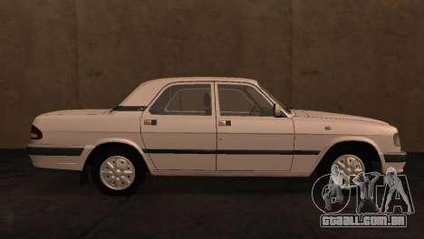 GAZ 3110 da série a Zona de exclusão de Chernoby para GTA San Andreas esquerda vista