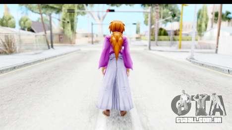 Kenshin v2 para GTA San Andreas terceira tela