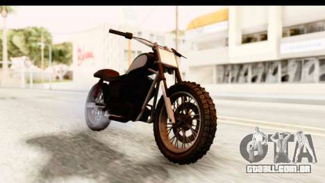 GTA 5 Western Cliffhanger Stock para GTA San Andreas