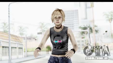 Silent Hill 3 - Heather Sporty Dark Gray Obama para GTA San Andreas