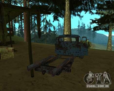 Velho e enferrujado, GÁS 53 para GTA San Andreas terceira tela