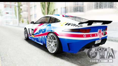 GTA 5 Ocelot Lynx SA Lights para GTA San Andreas interior