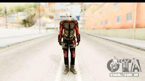 Suicide Squad - Deadshot para GTA San Andreas segunda tela