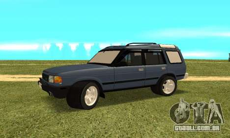 Land Rover Discovery 2B para GTA San Andreas vista direita