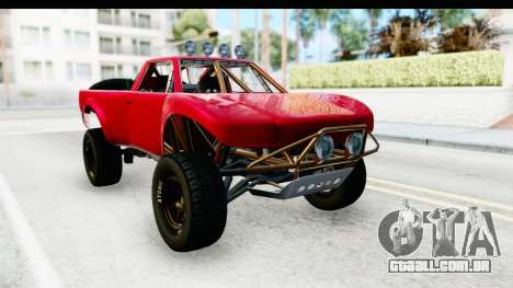 GTA 5 Trophy Truck SA Lights para GTA San Andreas vista direita