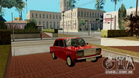 rus_racer ENB v1.0 para GTA San Andreas quinto tela