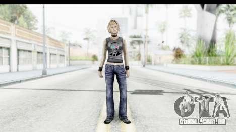Silent Hill 3 - Heather Sporty Dark Gray Obama para GTA San Andreas segunda tela