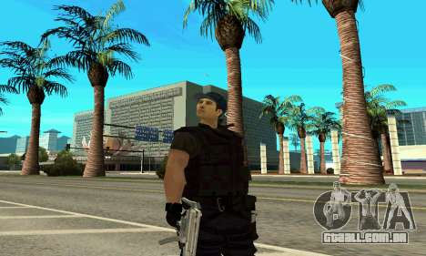 Instrutor da SWAT para GTA San Andreas