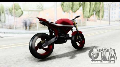 Custom Stunt FCR9000 para GTA San Andreas esquerda vista