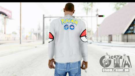 Sweat Pokemon Go Pikachu para GTA San Andreas segunda tela