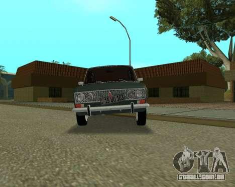 VAZ 2103 arménio para GTA San Andreas traseira esquerda vista