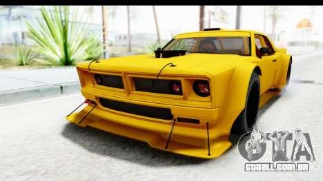 GTA 5 Declasse Drift Tampa para GTA San Andreas traseira esquerda vista